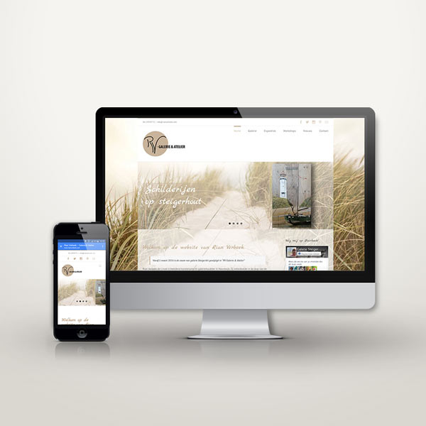 Website Rian Verbeek