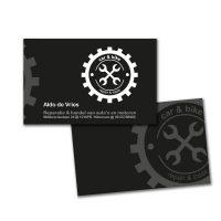 Car & bike visitekaartje