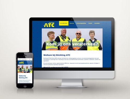 Website voor Stichting ATC