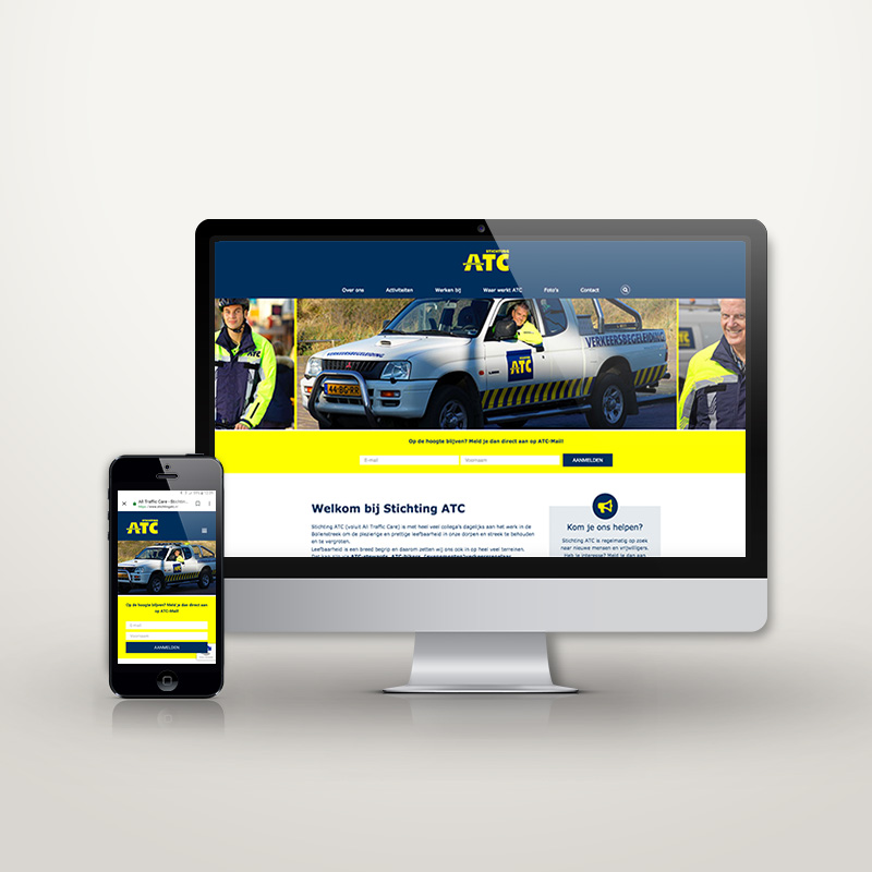 Website Stichting ATC