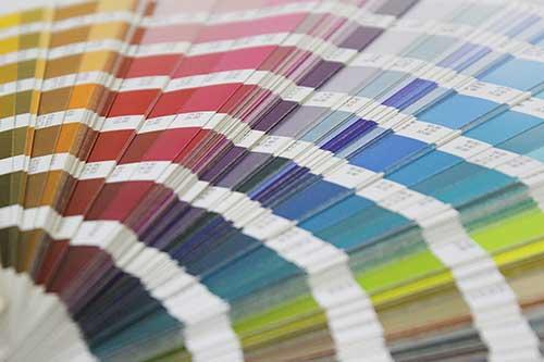 Pantone kleurenwaaier