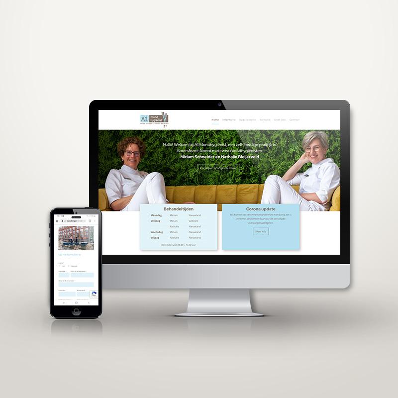a1mondhygienist-website